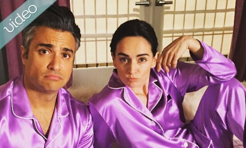 Ana y Jaime en la cama con matching pijamas, además Belinda y un throw back casi irreconocible y North West cansada de las cámaras.