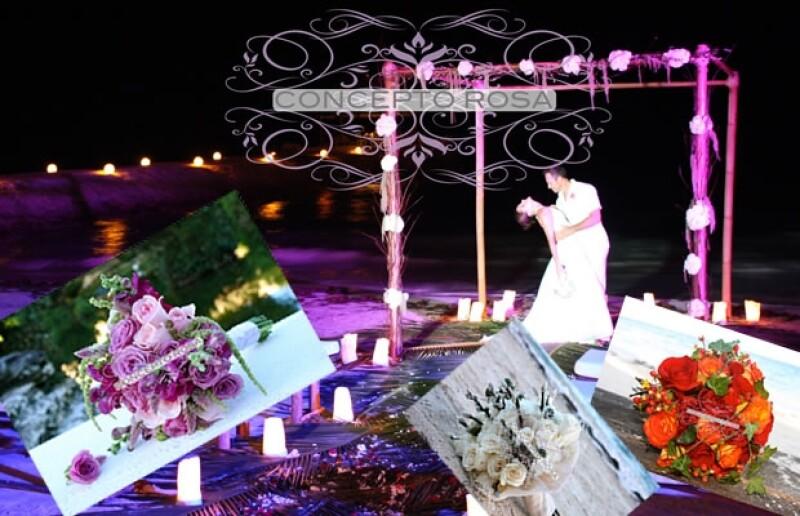 `Concepto Rosa´ es la empresa que las amigas y ahora socias crearon para guiar a toda mujer hasta el día de su boda haciéndose cargo de toda la decoración.