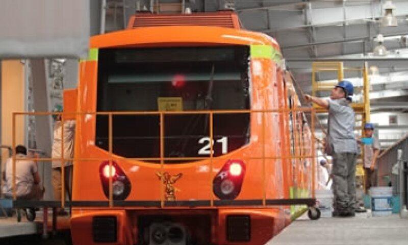 Una licitación para el mantenimiento mayor de 45 trenes fue declarada desierta. (Foto: Cuartoscuro )