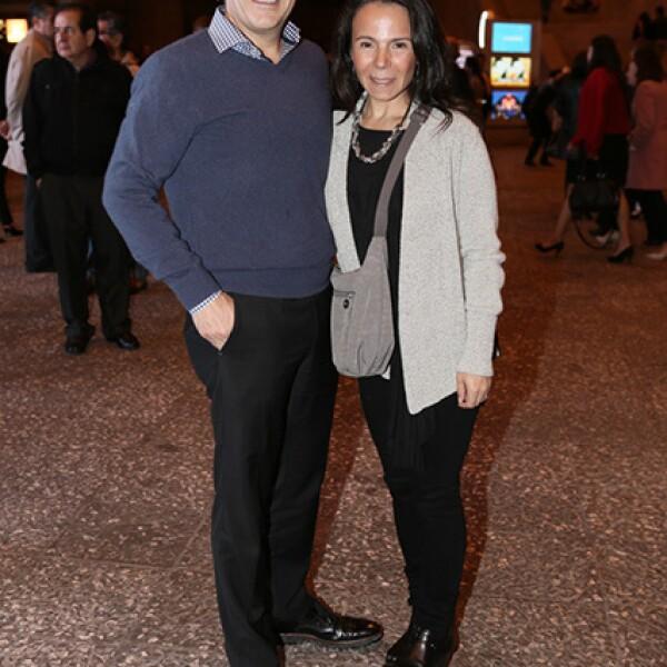 Jaime León y Norma Lomas
