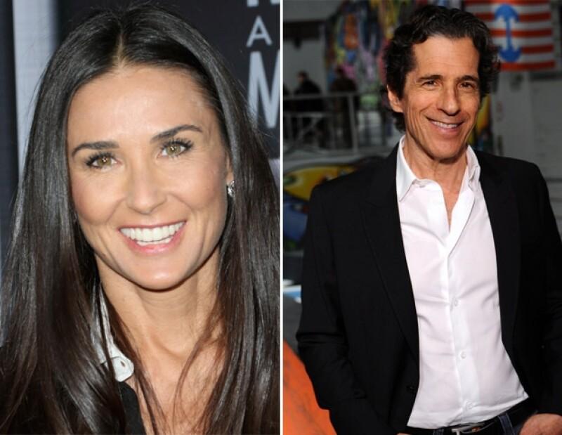 Todo parece indicar que la actriz mantiene una relación con Peter Morton, propietario de la cadena Hard Rock Cafe.