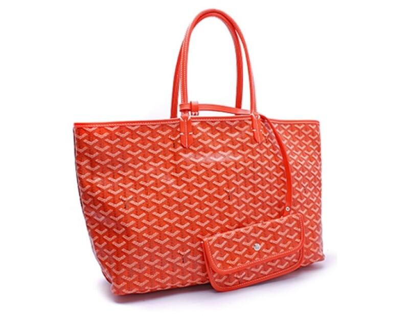 Dale un toque de color a tu look con una tote Goyard, ¡los colores de las bolsas están increíbles!