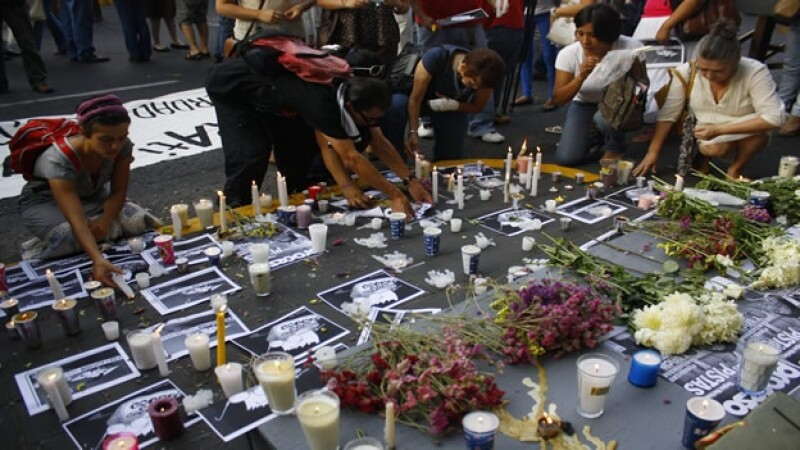 protesta periodistas xalapa