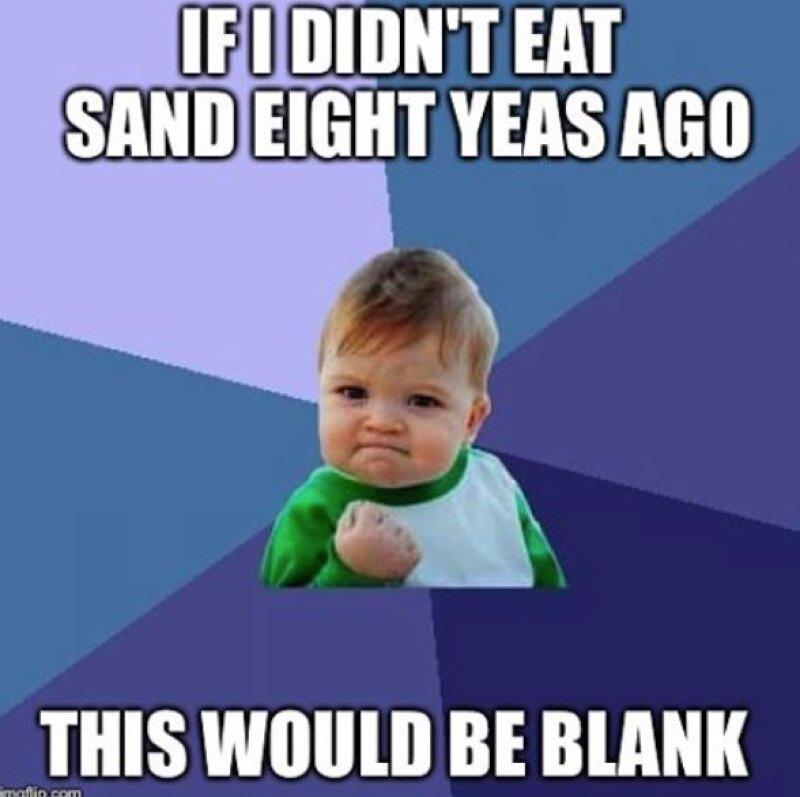 Success kid es uno de los memes más famosos de Internet.
