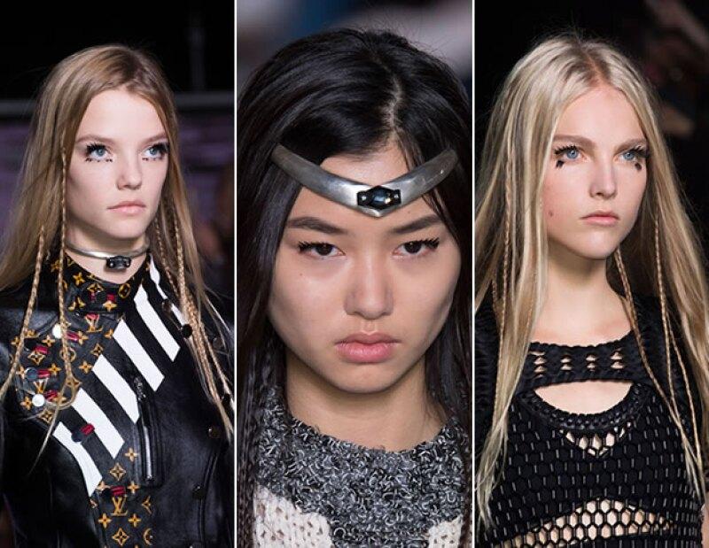 Paul Hanlon se encargó de los peinados para Louis Vuitton.