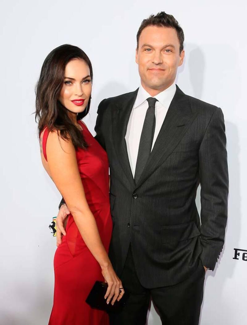 El padre de la actriz ha confirmado que el bebé que esperan Megan y Brian Austin Green será un niño.