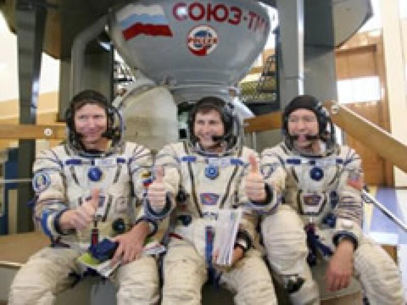 Los turistas del espacio arribaron al cento de Kazajistán. (Foto: Reuters)