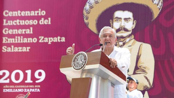 Emiliano Zapata y AMLO