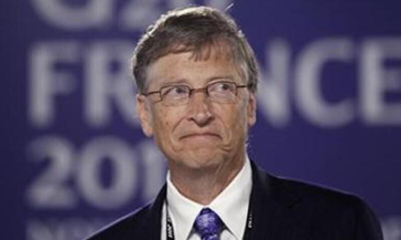 Bill Gates presentó un reporte a los líderes del G20 a petición de Nicolás Sarkozy. (Foto: Reuters)