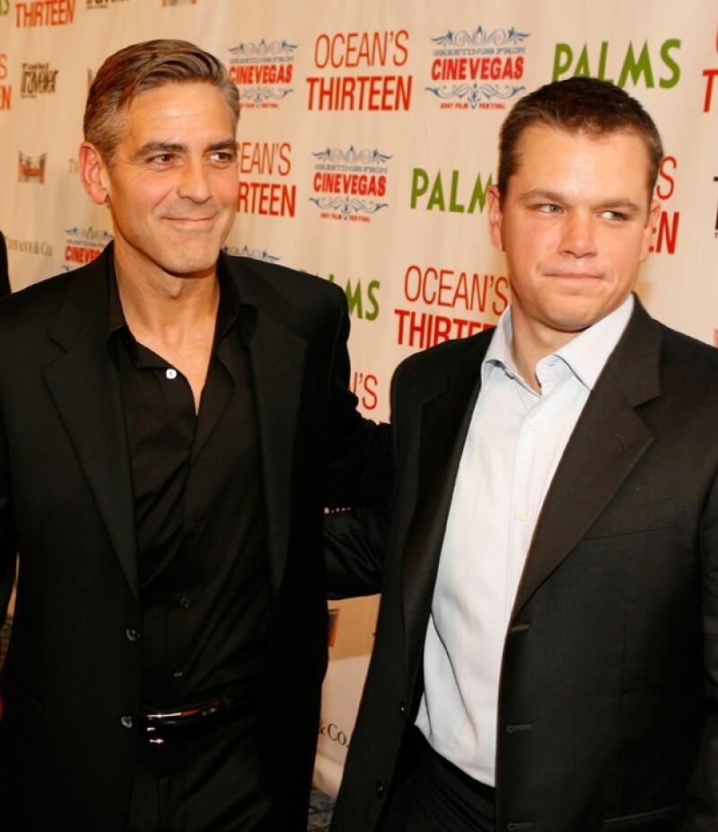 Aunque muchos creerían que el mejor candidato para `bestman´ era la pareja de Angelina Jolie, lo cierto es que el actor se lo prometió a Matt Damon, otro de sus grandes amigos.