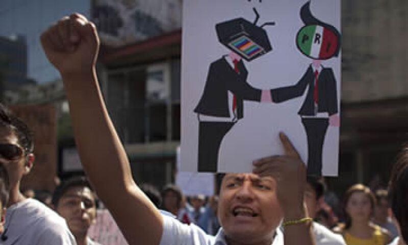 Televisa afirma que el trabajo de Esmas siempre ha sido legal y transparente. (Foto: AP)