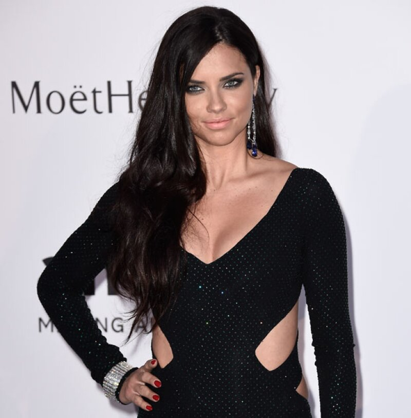 La foto que subió la top model fue criticada debido a la forma y color.