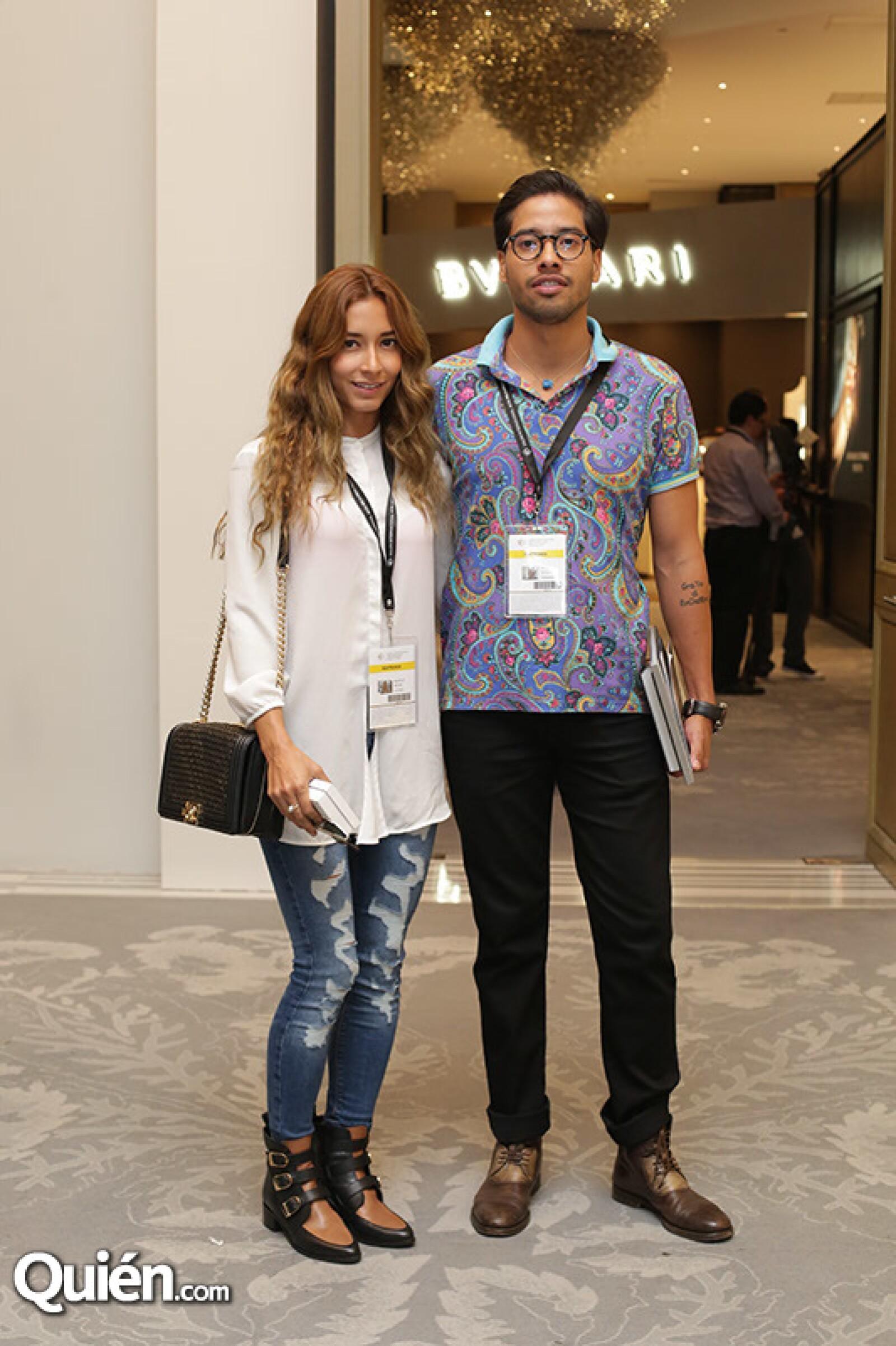 Mirelle Molina y Ángel Bin Varo