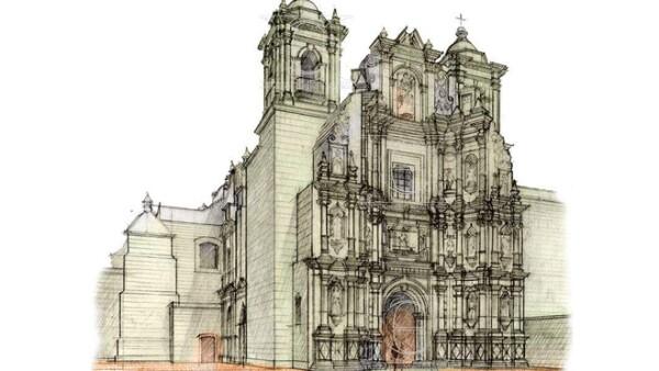 Catedral boceto