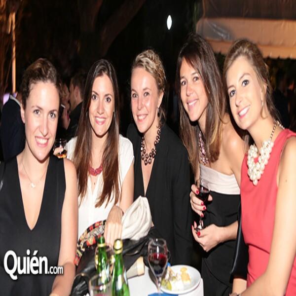 Celine Perrot,Alexandra Torres,Enilie Durrieli,Caroline Van Assche