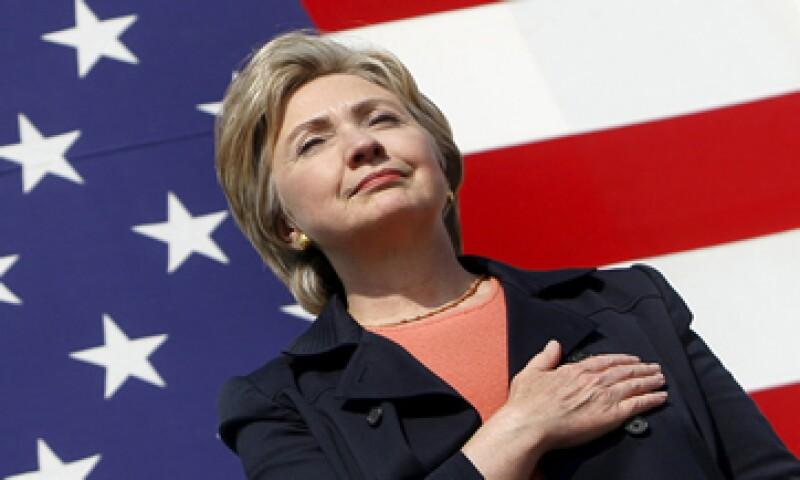 Clinton anunció el domingo que postularía a la nominación presidencial del Partido Demócrata. (Foto: Reuters)