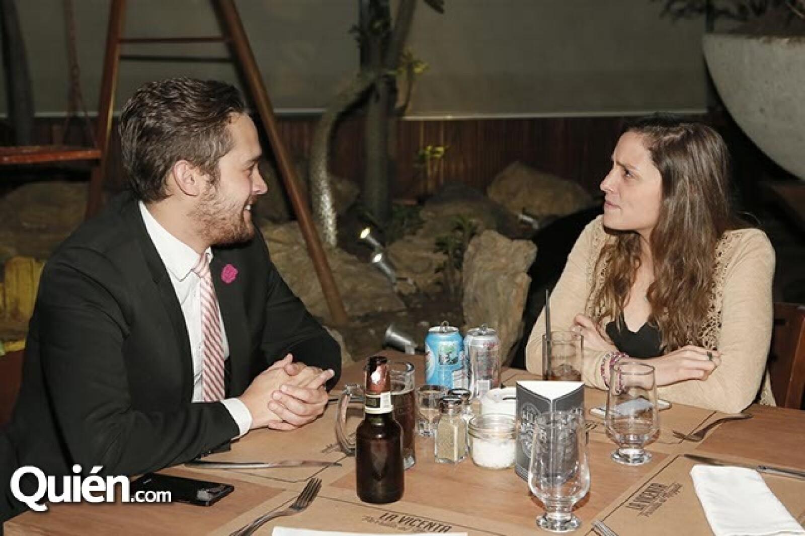 Gerardo Arceo y Elisa Macedo