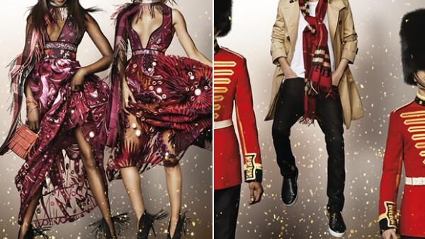 La firma estrena campaña navideña con en la que íconos británicos como Sir Elton John y Rosie Huntington-Whiteley reinterpretan la famosa escena de Billy Elliot.