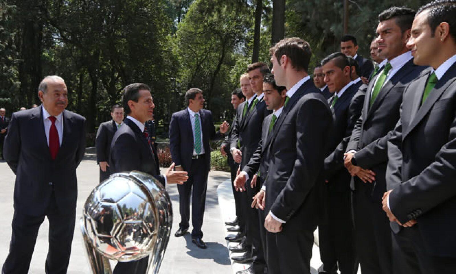 Carlos Slim posee 30% del Club León, el cual ganó al América de Emilio Azcárraga 5-1, en el marcador global.
