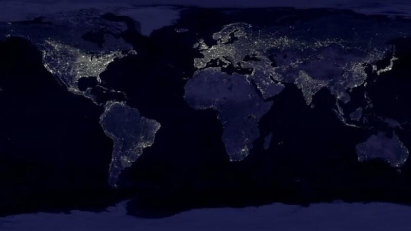 planeta desde el espacio