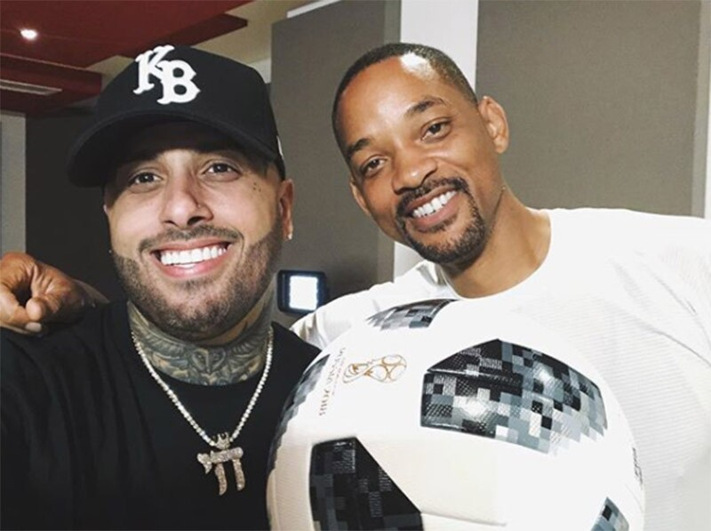 Will Smith y Nicky Jam