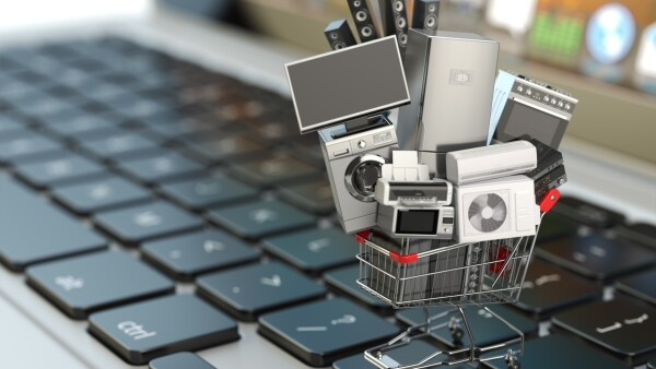 E-commerce or online shopping concept.