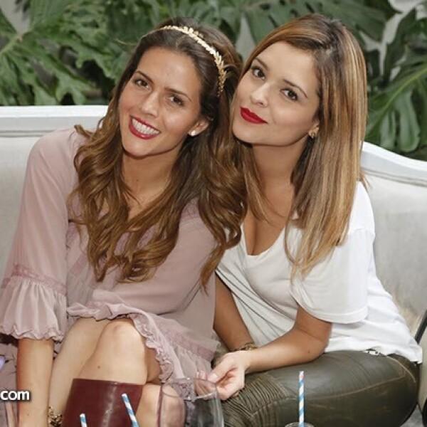 Claudia Álvarez y Grettell Valdéz