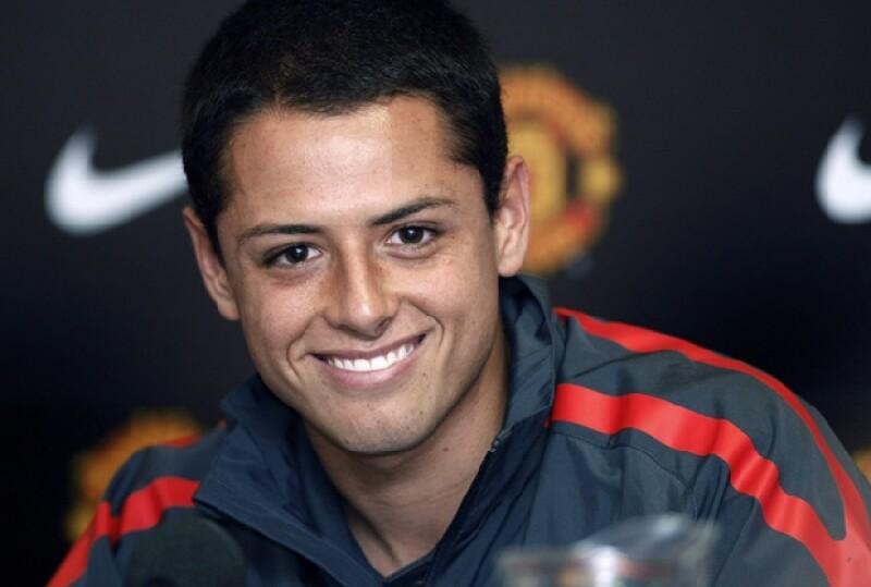 Javier `El Chicharito´ Hernández a sus 24 años es una gran orgullo mexicano.