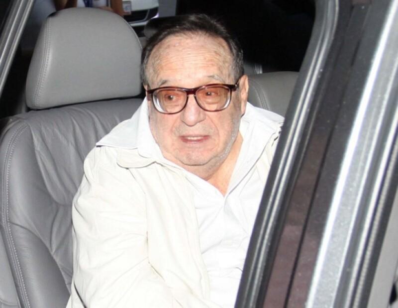 Chespirito dijo que por problemas de salud no puede ir al Carnaval de Brasil.