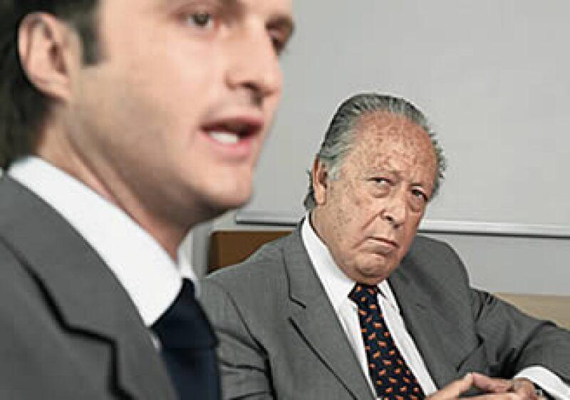 Luis Alberto Guerra (izq.) y José Madariaga Lomelín unen experiencias para conquistar a las empresas medianas a través de la firma Bulltick.  (Foto: Alfredo Pelcastre/Monda Photo)