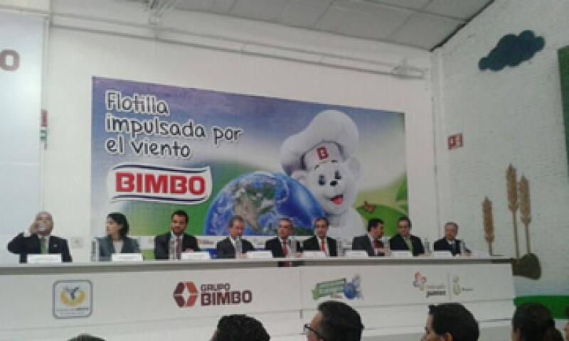 Contará con 73 vehículos de distribución que transitarán con motores eléctricos. (Foto: Tomada de Facebook.com/BimboMexico)