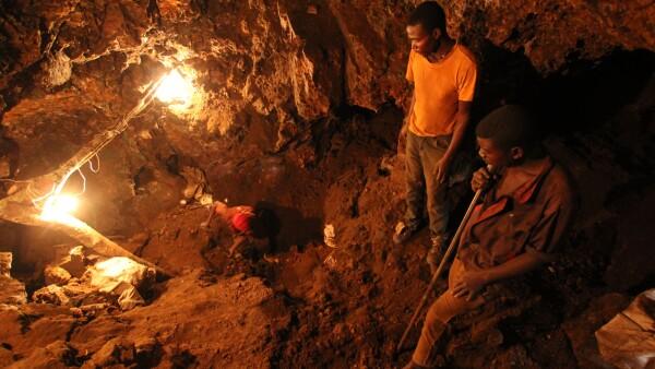 Miners & Underground Mining in Africa