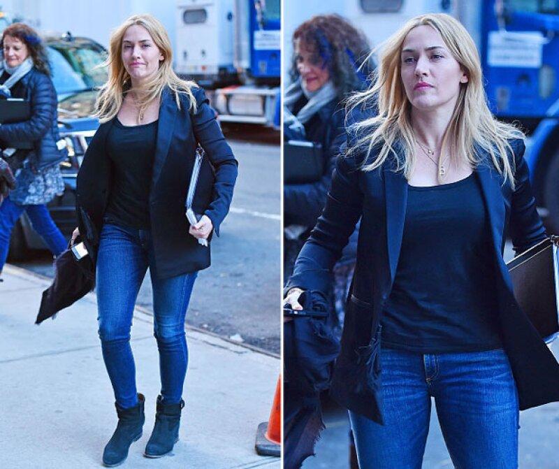 La actriz finalmente aclaró los rumores que se desataron durante la 88° entrega de los Oscar mientras platicaba con Cate Blanchett y Brie Larson.
