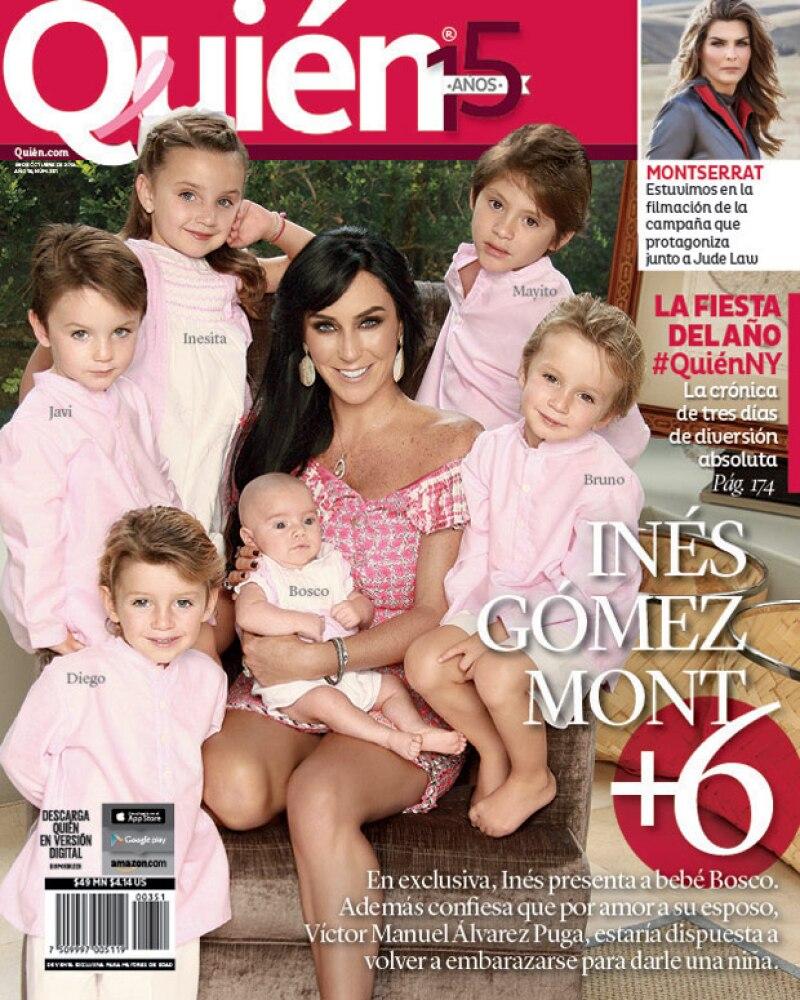 Felices y con muchos hijos, personalidades como Angelina Jolie, Julio Iglesias e Inés Gómez Mont han optado por tener numerosos integrantes en su núcleo familiar.