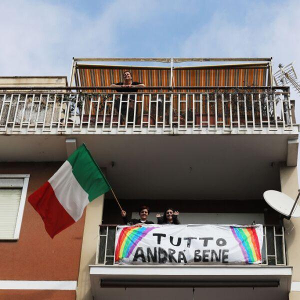 Italian Daily Life Comes To A Halt During Coronavirus Shutdown