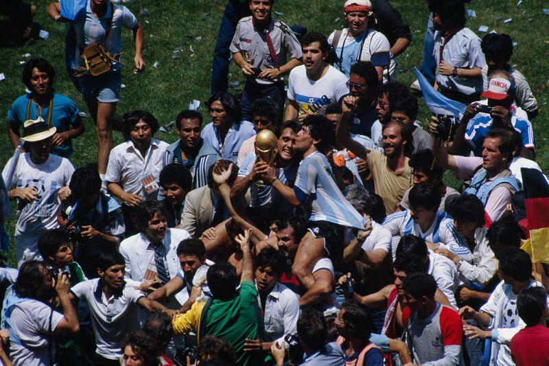 Argentina, Campeón Mundial 1986