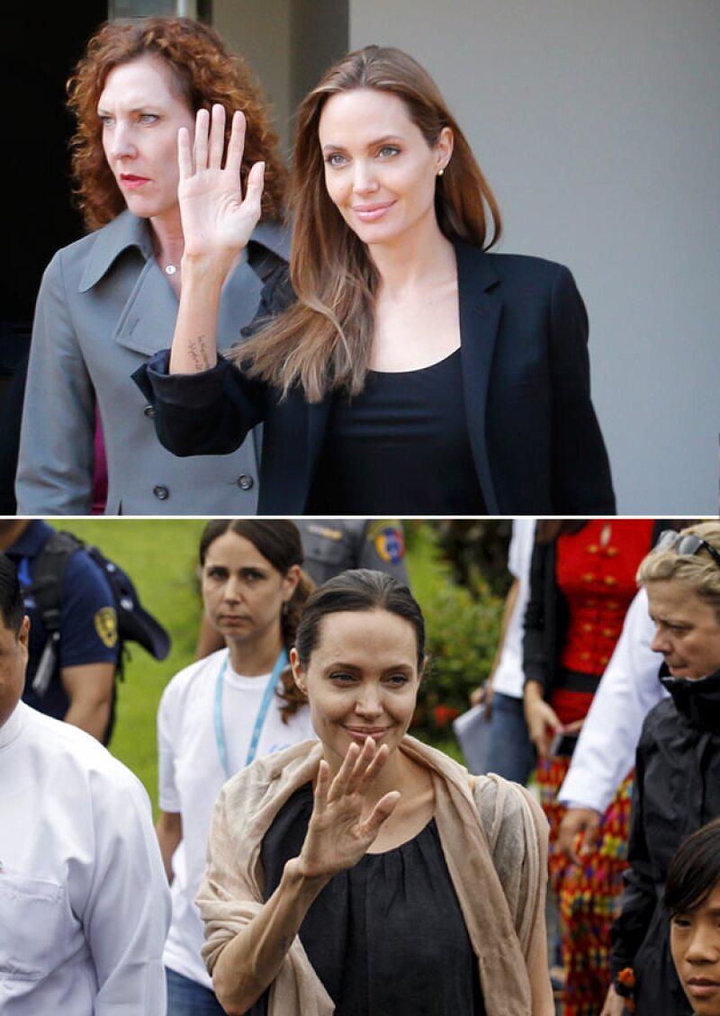 A partir de 2014 Angelina comenzó a perder peso drásticamente, por lo que la teoría del transtorno límite de personalidad podría ser cierto.