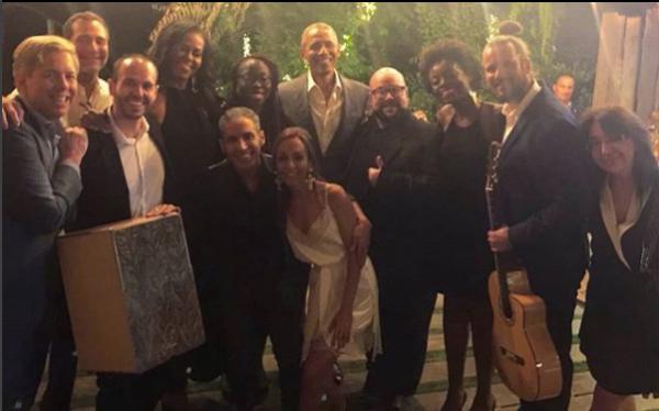 Los Obama y amigos