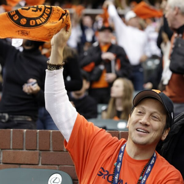 Rob Schneider, actor de `Este cuerpo no es mío´, es fan de los Gigantes de San Francisco.