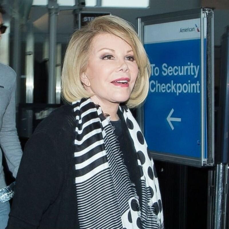 Joan era reconocida como una de las grandes figuras de la televisión estadounidense.