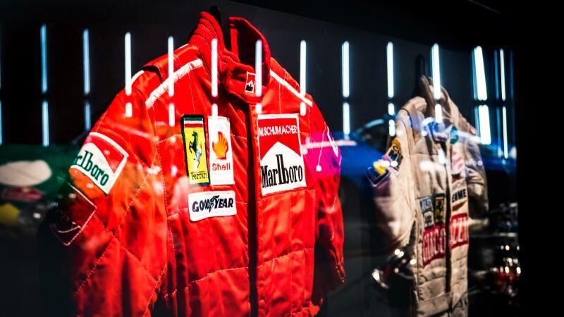 Museo de Londres traje de Schumacher