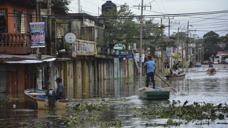 Veracruz lluvias frente frio 12