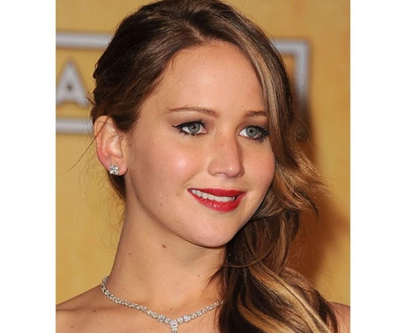 Jennifer Lawrence parece ser una estrella ascendente desde su actuación en Hunger Games.