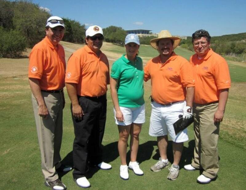 Aunque Lorena está retirada del golf, sigue siendo reconocida por el gremio.