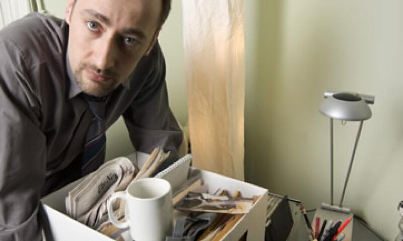 El despido es sinónimo de un futuro incierto, y si se da en temporada festiva es un golpe más fuerte a la autoestima del empleado, dicen expertos. (Foto: Thinkstock)