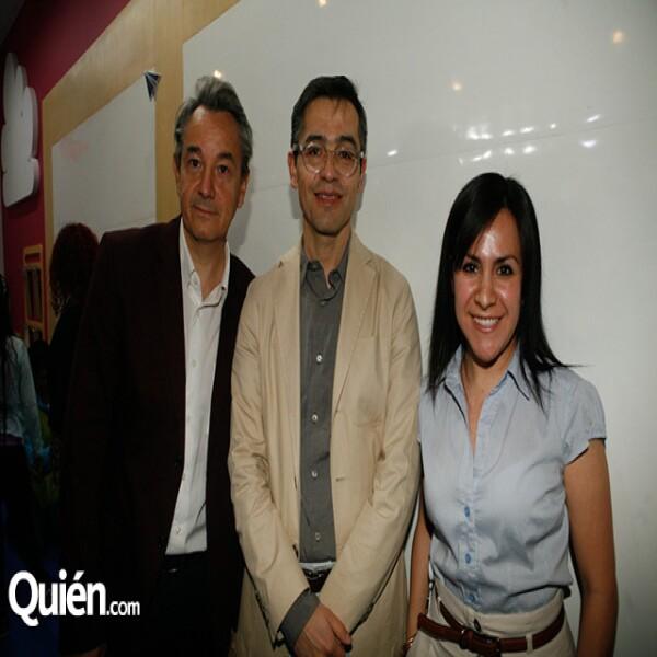 Christian Mouir,Horacio Carrión,Nazarely Juárez