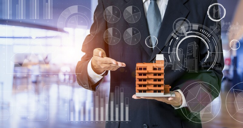 Inspection of building concept. Real estate developer. Earthquake resistant construction.
