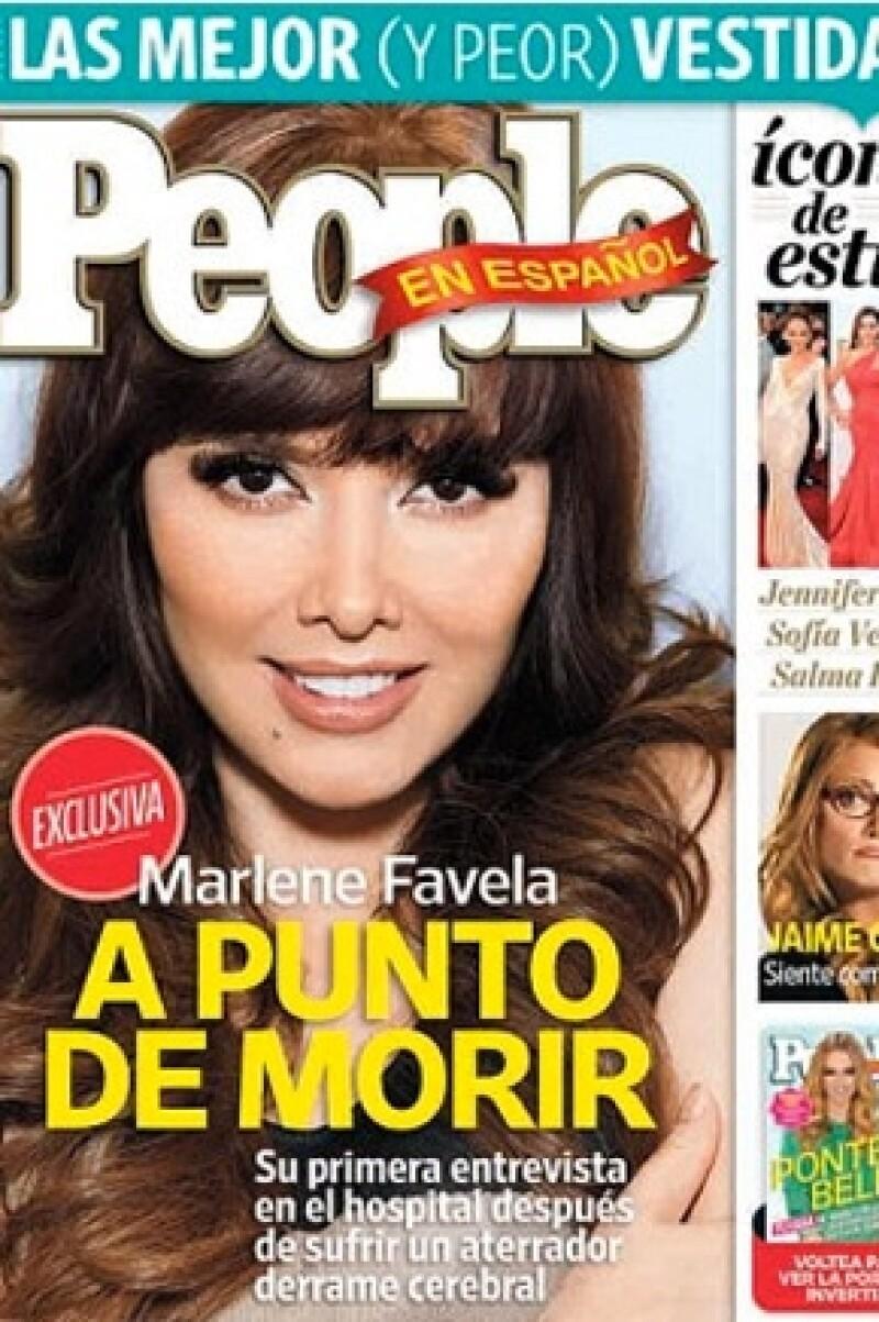 La actriz confesó en la revista People en Español que estuvo muy cerca de perder la vida, pero gracias al cuidado médico logró superar este amargo momento.