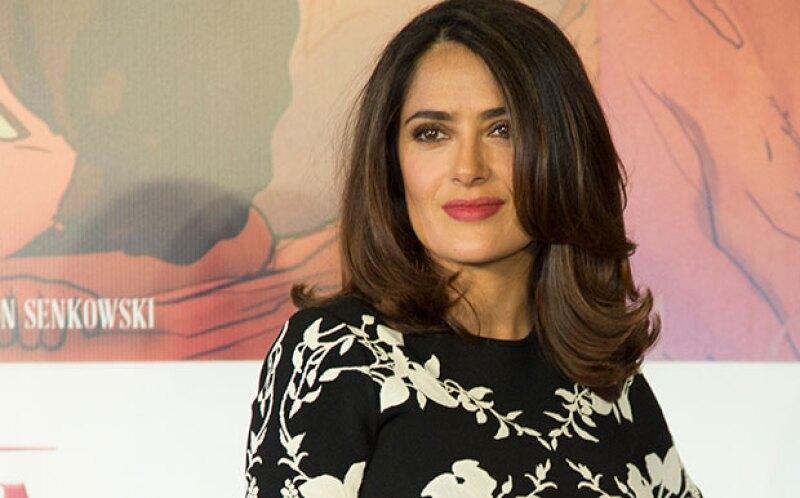 La actriz mexicana considera que en la familia que ha formado con François-Henri Pinault hay cuatro niños. No uno, al incluir a su hija Valentina y a sus tres hijastros.