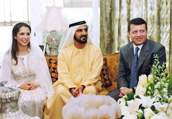 Princesa Haya de Jordania, Mohamed bin Rashid y el rey Abdullah de Jordania